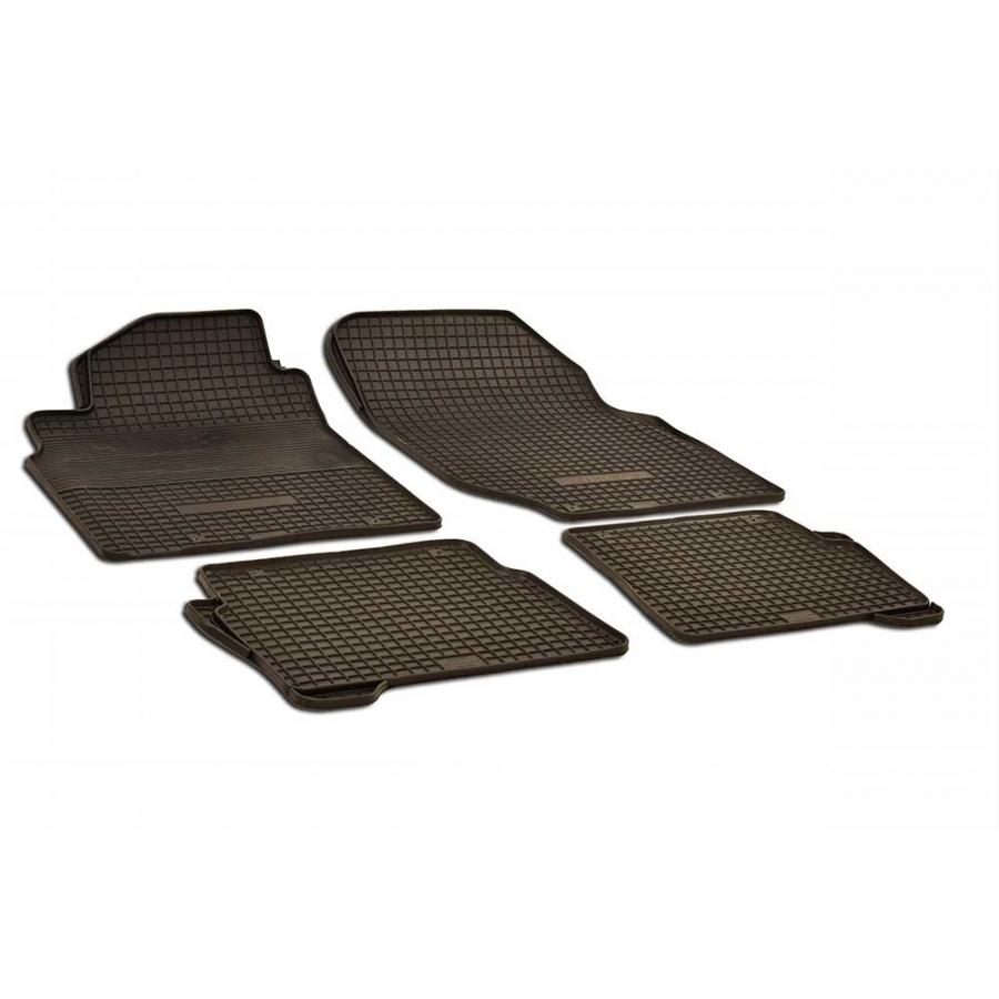 Guminiai kilimėliai NISSAN Almera N16 2000-2007 (juodos spalvos)