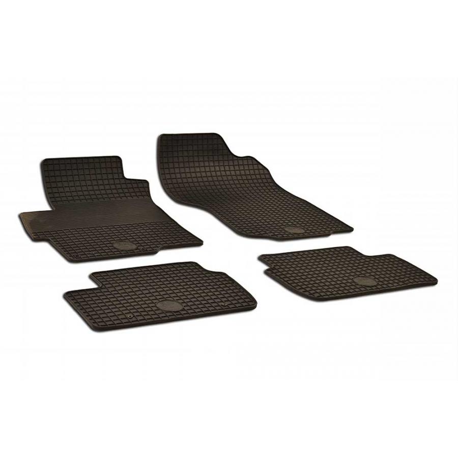 Guminiai kilimėliai MITSUBISHI Lancer 2008→ (juodos spalvos)