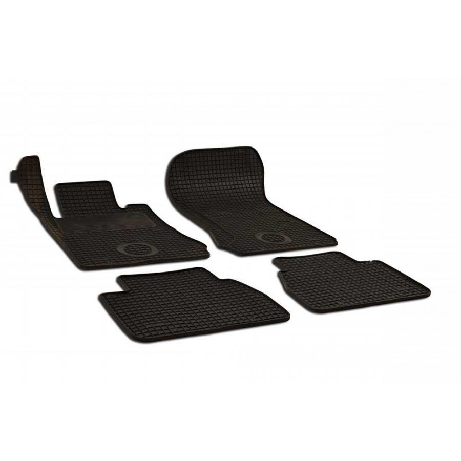Guminiai kilimėliai MERCEDES-BENZ W210 1995-2001 (juodos spalvos)