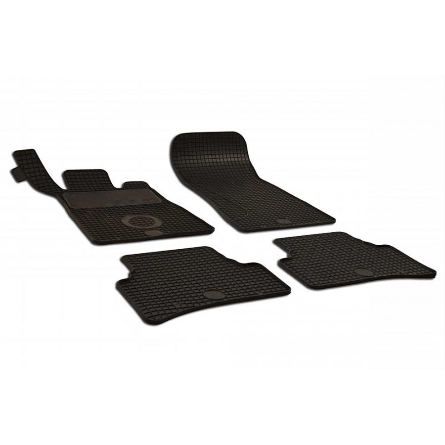 Guminiai kilimėliai MERCEDES-BENZ C-Klasė W203 2000-2007 (juodos spalvos)