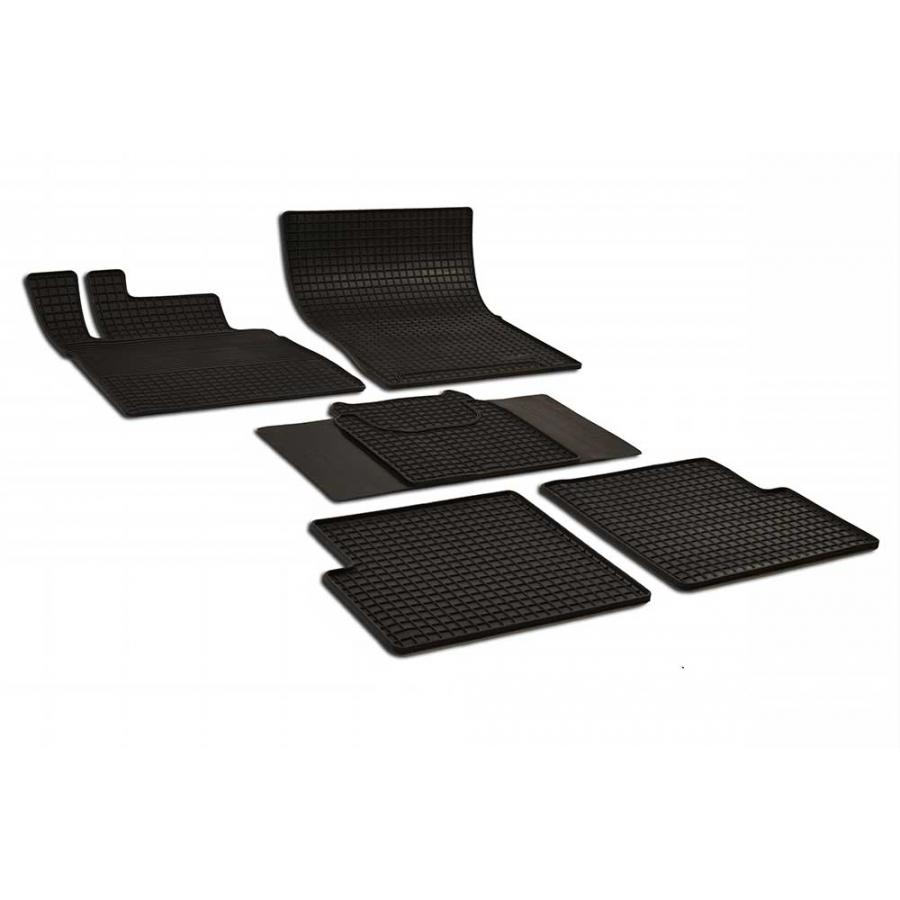 Guminiai kilimėliai MERCEDES-BENZ G-Klasse 2000 LONG 2000→ (juodos spalvos)
