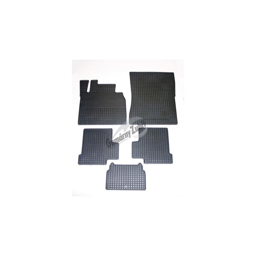 Guminiai kilimėliai MERCEDES-BENZ G-Klasse 2000 SHORT 2000→ (juodos spalvos)