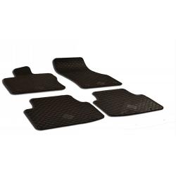 Guminiai kilimėliai VOLKSWAGEN Golf Sportsvan 2014→ (su originaliais tvirtinimais, juodos spalvos)