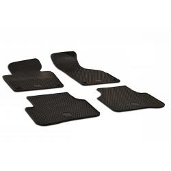 Guminiai kilimėliai VOLKSWAGEN Passat B6 2005-2011 (su originaliais tvirtinimais, juodos spalvos)