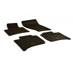Guminiai kilimėliai VOLKSWAGEN Touareg 2010-2018 (su originaliais tvirtinimais, juodos spalvos)