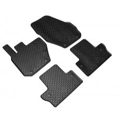 Guminiai kilimėliai VOLVO V60 2011-2018 (su originaliais tvirtinimais, juodos spalvos)