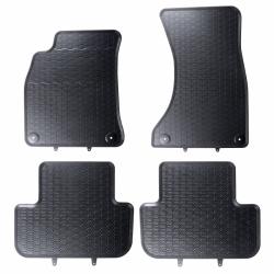 Guminiai kilimėliai AUDI A4 B8 2008-2015 (su gamykliniais fiksatoriais)