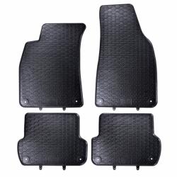 Guminiai kilimėliai AUDI A4 B6 2000-2004 (su gamykliniais fiksatoriais)