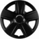 Ratų gaubtai R16 juodi ESPRIT
