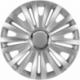 Ratų gaubtai R15 sidabriniai ROYAL