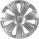 Ratų gaubtai R16 sidabriniai ENERGY