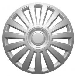 Ratų gaubtai R15 sidabriniai LUXURY