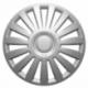Ratų gaubtai R16 sidabriniai LUXURY