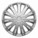 Ratų gaubtai R15 sidabriniai SPARK