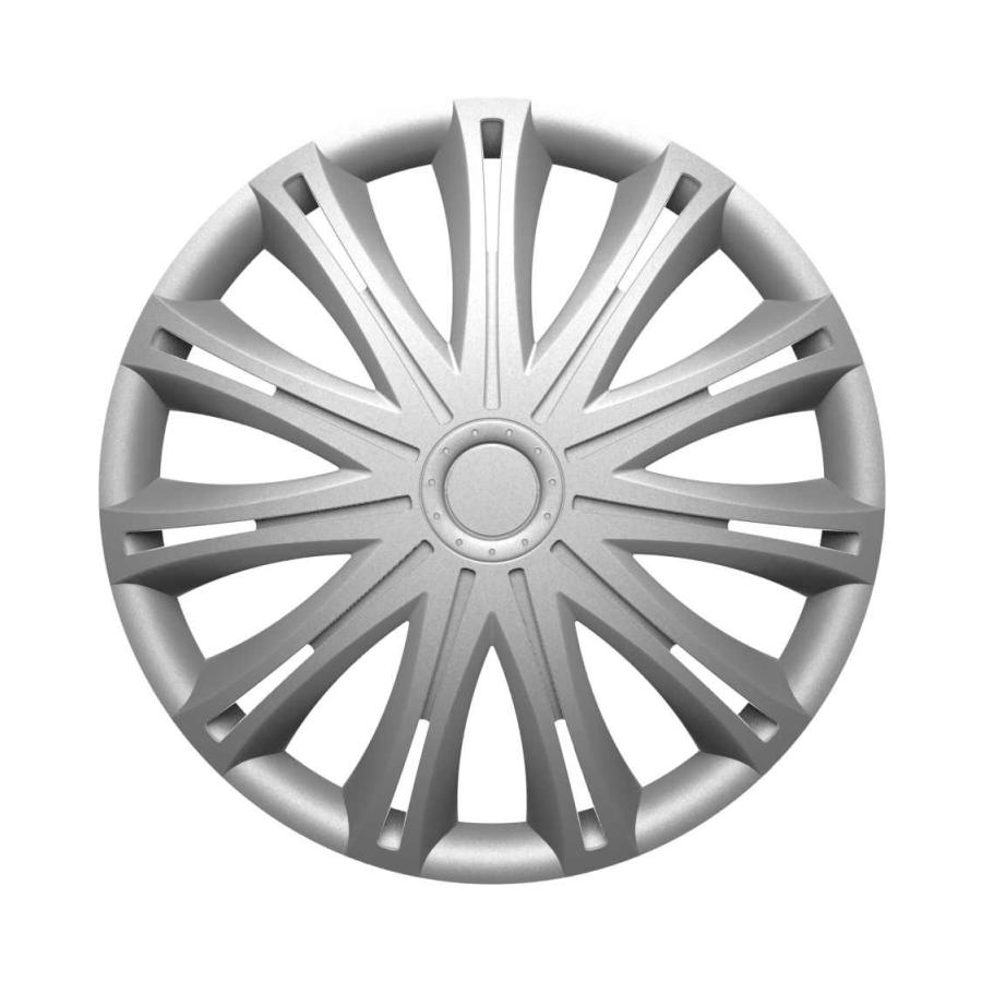 Ratų gaubtai R16 sidabriniai SPARK