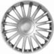 Ratų gaubtai R14 sidabriniai CRYSTAL