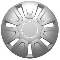 Ratų gaubtai R15 sidabriniai FOCUS