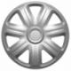 Ratų gaubtai R15 sidabriniai COMFORT