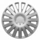 Ratų gaubtai R14 sidabriniai SMART