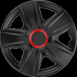 Ratų gaubtai R16 juodi ESPRIT RED RING Black