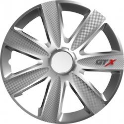 Ratų gaubtai R16 sidabriniai GTX CARBON