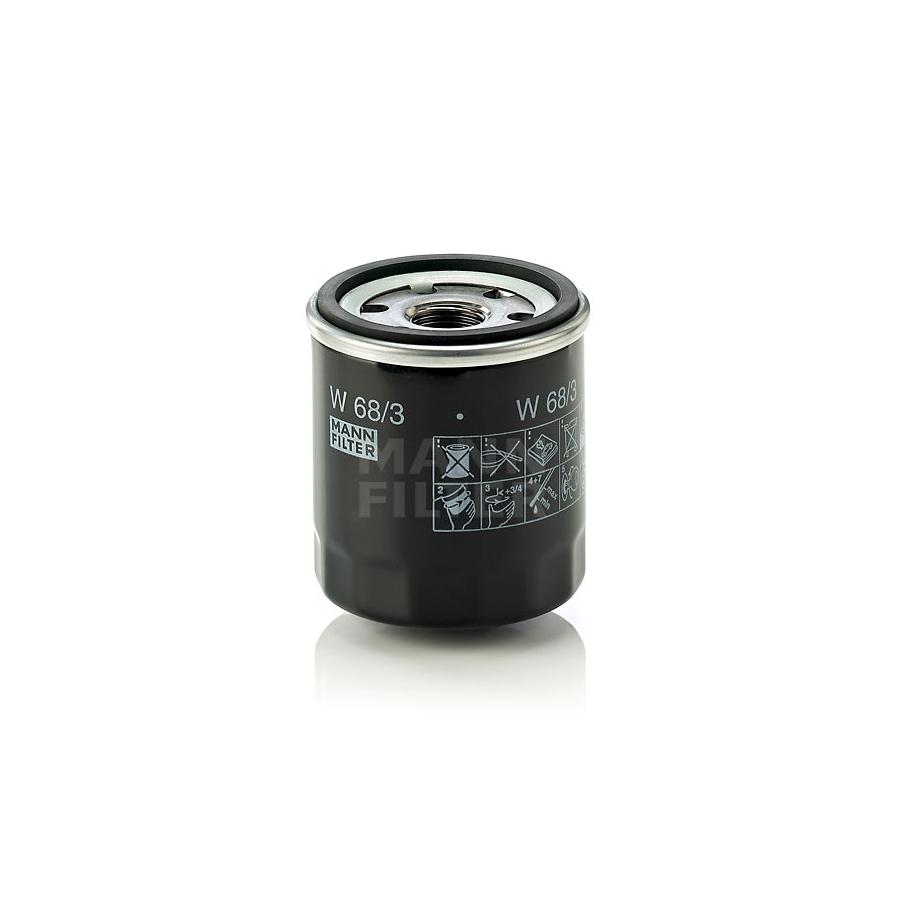 Tepalo filtras MANN-FILTER W 68/3