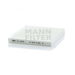 Salono filtras MANN-FILTER CU 2035