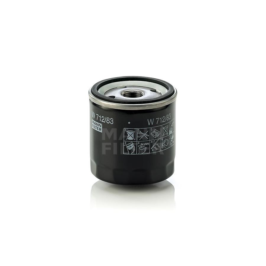 Tepalo filtras MANN-FILTER W 712/83