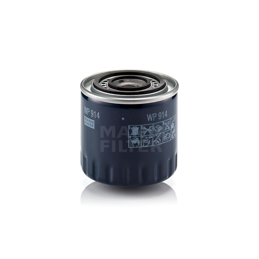 Tepalo filtras MANN-FILTER WP 914