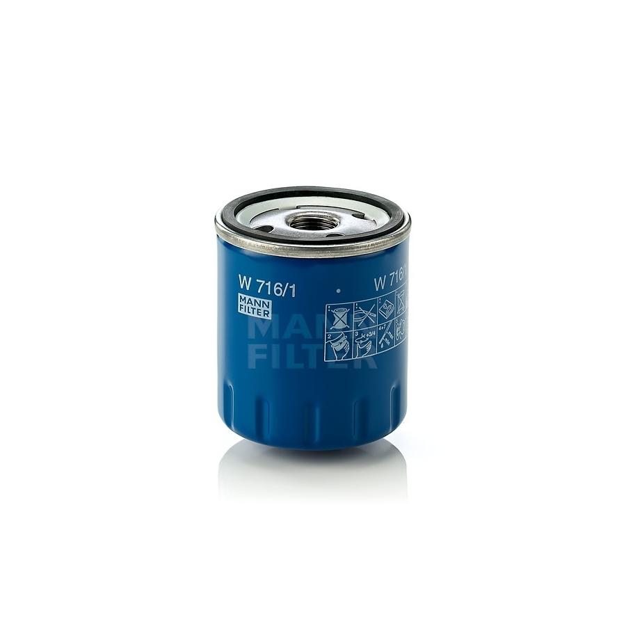 Tepalo filtras MANN-FILTER W 716/1