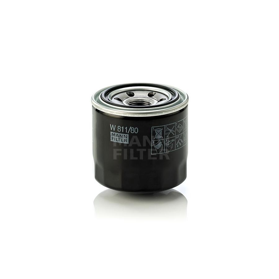 Tepalo filtras MANN-FILTER W 811/80
