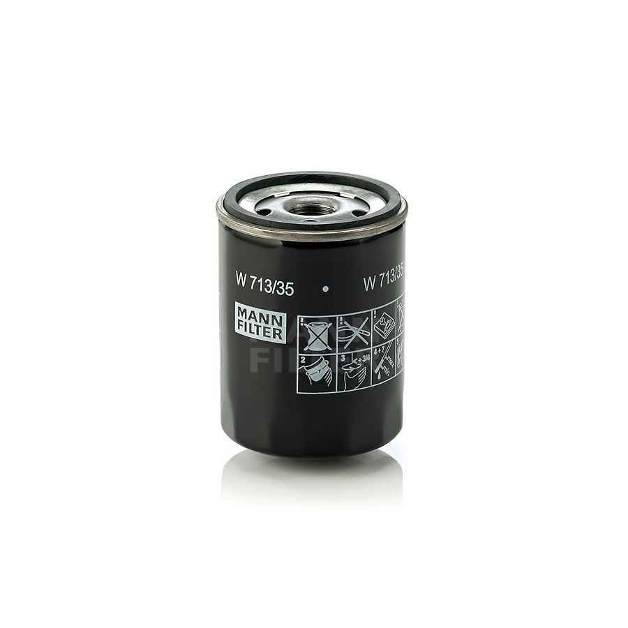 Tepalo filtras MANN-FILTER W 713/35