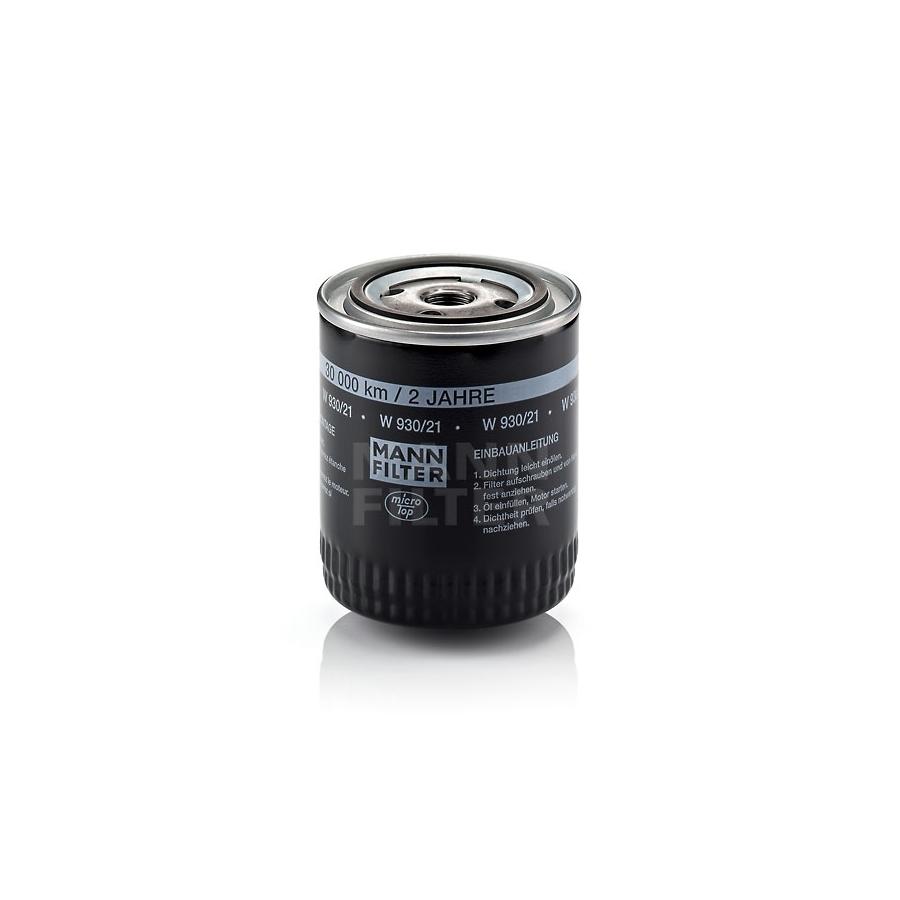 Tepalo filtras MANN-FILTER W 930/21
