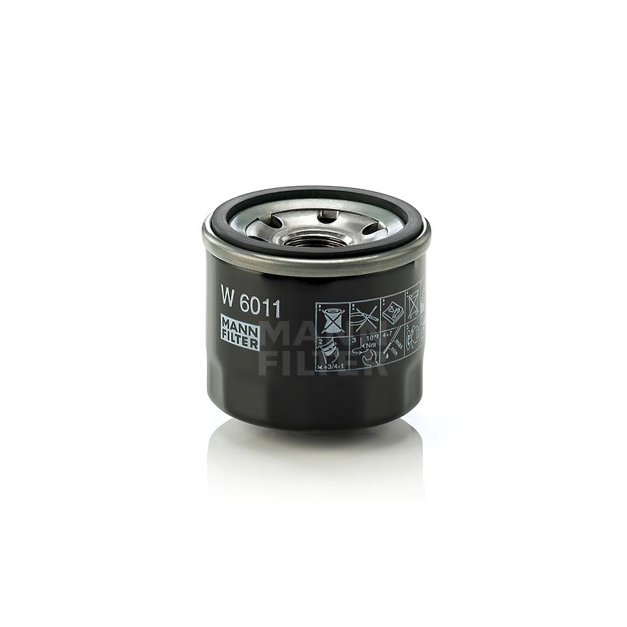 Tepalo filtras MANN-FILTER W 6011