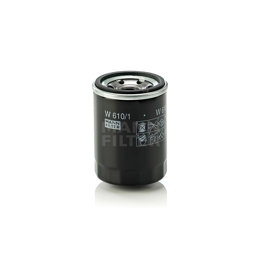 Tepalo filtras MANN-FILTER W 610/1