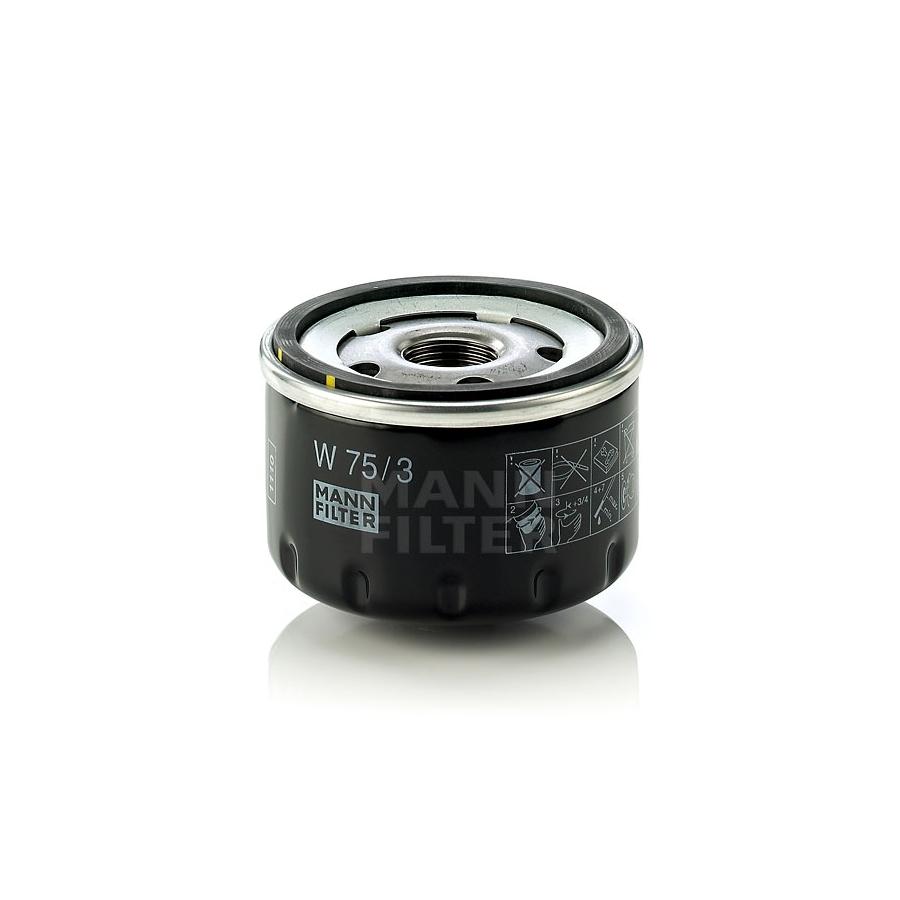 Tepalo filtras MANN-FILTER W 75/3