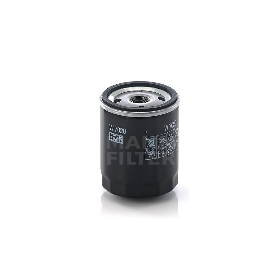 Tepalo filtras MANN-FILTER W 7020