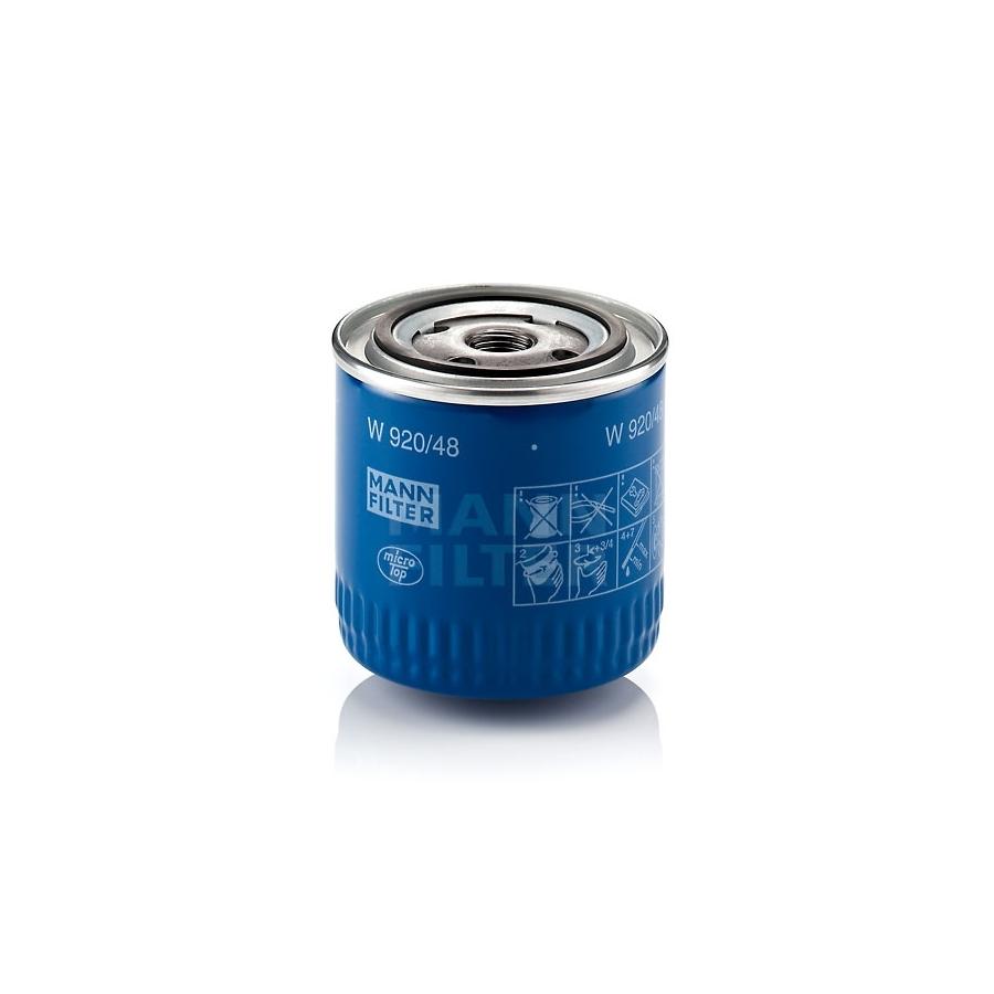 Tepalo filtras MANN-FILTER W 920/48