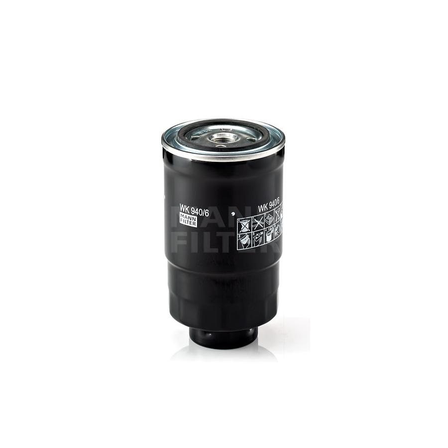 Kuro filtras MANN-FILTER WK 940/6