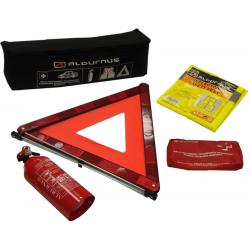 Automobilio saugos rinkinys (ES standartas) su 2 kg gesintuvu