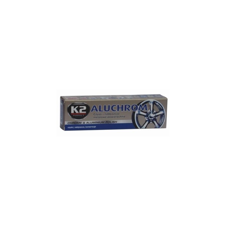 Poliravimo pasta aliuminiui ir chromui K2 ALUCHROM, 120g