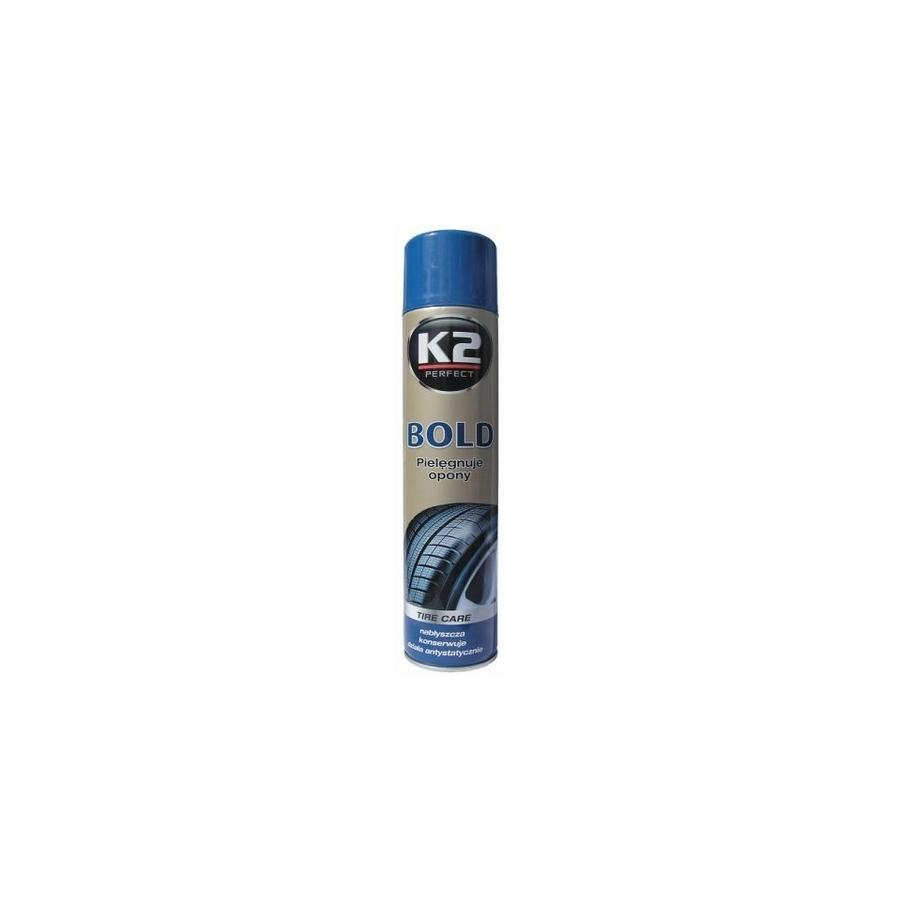 Padangų juodinimo priemonė K2 BOLD, 600ml