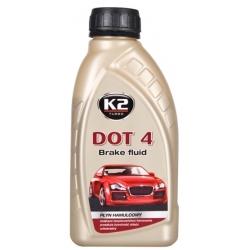 Stabdžių skystis sintetinis K2 DOT4, 500ml