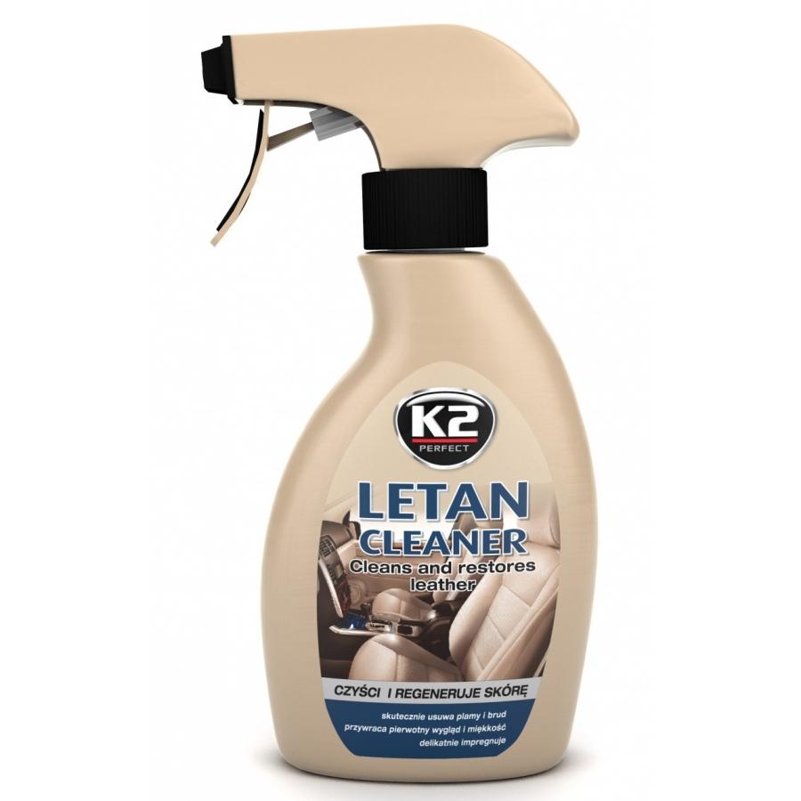 Purškiamas odinių sėdynių valiklis K2 LETAN, 250ml