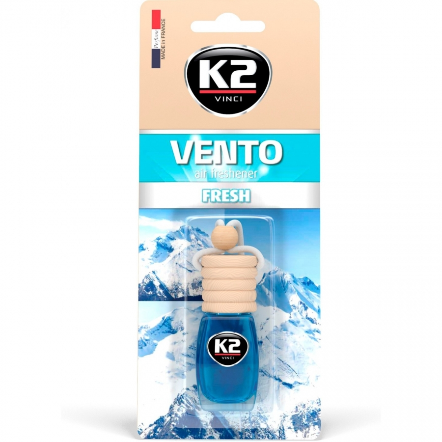 Pakabinamas oro gaiviklis K2 VENTO FRESH, 8 ml