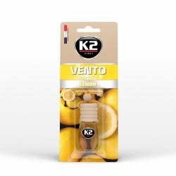 Pakabinamas oro gaiviklis K2 VENTO LEMON, 8 ml
