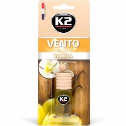 Pakabinamas oro gaiviklis K2 VENTO VANILLA, 8 ml