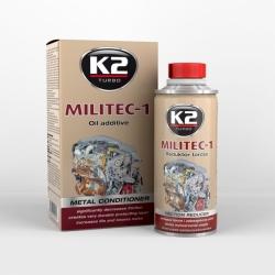Sintetinis tepalo priedas trinčiai sumažinti K2 MILITEC-1, 250ml