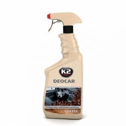 Purškiamas oro gaiviklis K2 DEOCAR COFFEE, 700ml