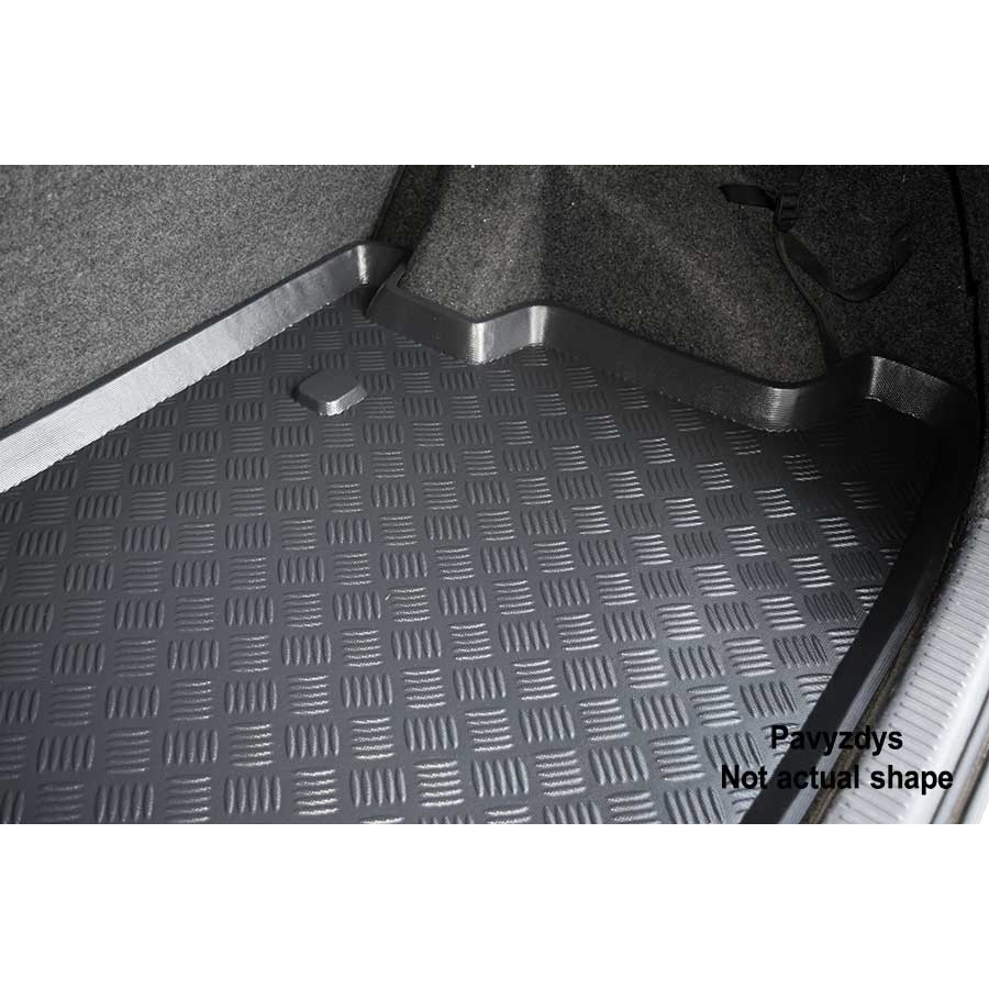 Plastikinis bagažinės kilimėlis PEUGEOT 307 Hatchback 2001-2007